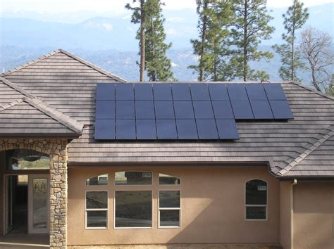 solar panels on houses home solar panel system photo gallery rgs energy