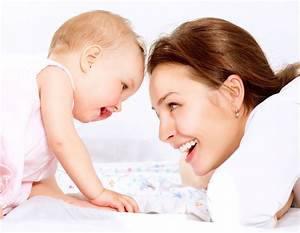 Baby's Good Health Keeps A Mom Happy