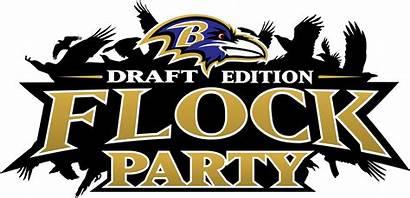 Ravens Baltimore Flock Draft Events