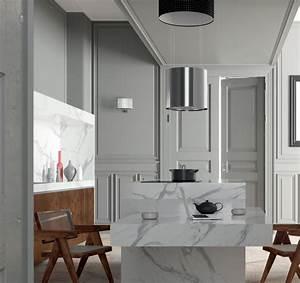Hotte Aspirante Lustre : hotte lustre kaleidos 60cm 520m3 h inox noir roblin ~ Premium-room.com Idées de Décoration