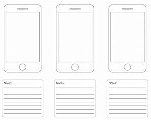 stunning iphone app templates images resume ideas With iphone app wireframe template