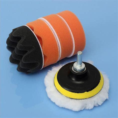 car polishing tools set   buffing pad kit compound