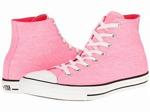 Converse Chuck Taylor All Star Washed Neon Hi Neon Pink