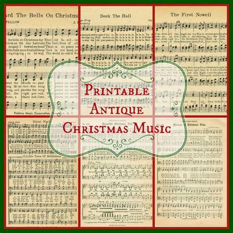 christmas sheet music sheet music and free printable on