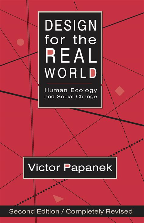 design for the real world human ecology and social change
