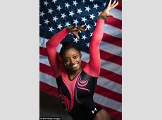 Simone Biles is chosen to carry the American flag at