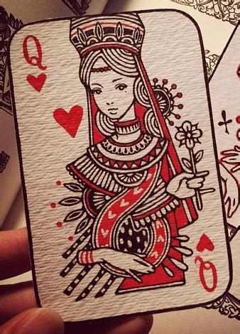 Best Queen Of Hearts Card Ideas And Images On Bing Find What You