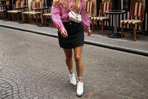 Laced up Nike Cortez x YSL | Paris. u2022 Fashiontwinstinct | By Su u0026 Chris