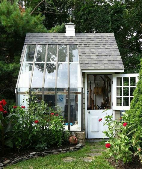 greenhouse shed combo greenhouses and garden sheds