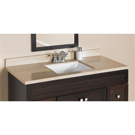 shop style selections dune dune solid surface integral