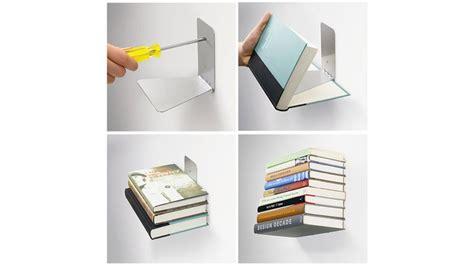 etagere invisible pour livre pm pas cher