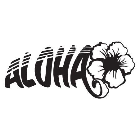 aloha hibiscus wall quotes wall art decal wallquotescom