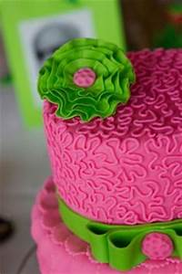 Girls First birthday cake on Pinterest