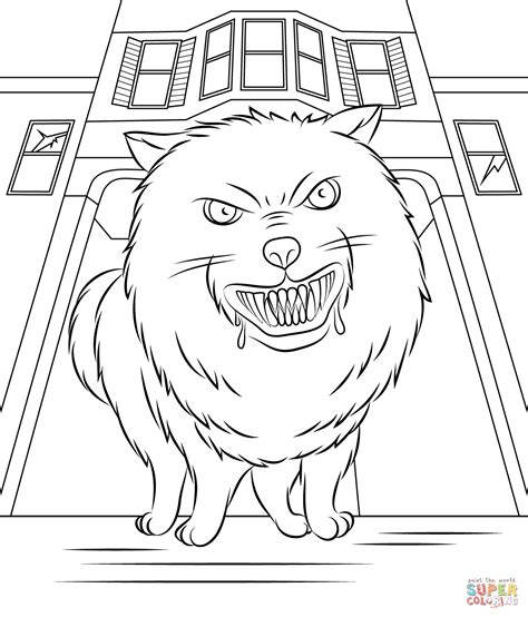 goosebumps coloring pages goosebumps horrorland coloring page free printable