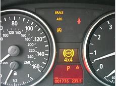 ABS BRAKE lights up on Dashboard