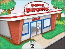 Burger Shop line Game Papa s Burgeria