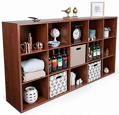 Cube Storage Shelving Wood Display Organizer Commercial