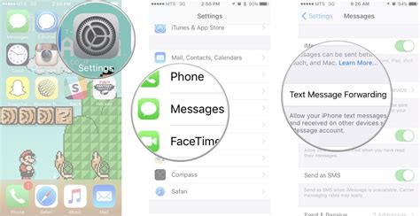 how to enable messaging on iphone 5 how to set up and use sms relay to send and receive