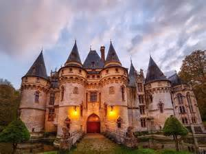 chateau style homes 16th century castle le chateau de vigny listed for