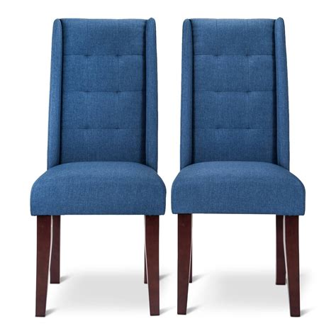 pin tuck dining chair set of 2 ebay