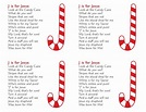 J is for Jesus - Candy Cane   Christmas   Pinterest ...