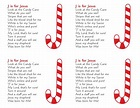 J is for Jesus - Candy Cane Christmas Gift for students ...