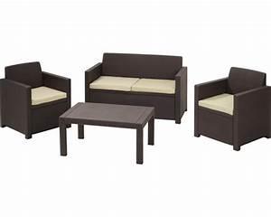 set de meubles de salon de jardin jardin merano rotin With meuble de jardin rotin synthetique