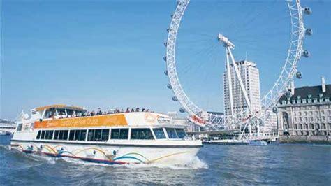 London Eye Boat Cruise by London Eye River Cruise Tickets Visitbritain
