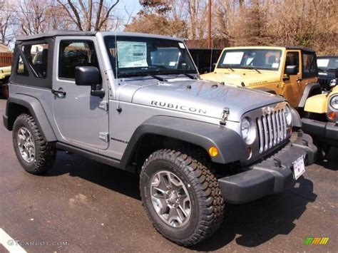 jeep metallic billet silver metallic 2013 jeep wrangler rubicon 4x4