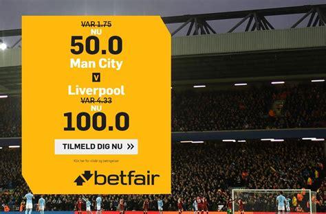 Manchester City - Liverpool tilbud: Få odds 50.00 eller ...