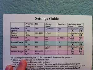 Manual Settings Guide
