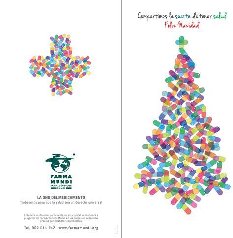 postal de navidad 193 rbol p 237 ldoras pharmasophie