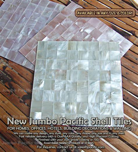 Philippine Shell Tile by Shell Tiles Philippine Crackling Shell Tile Jumbo