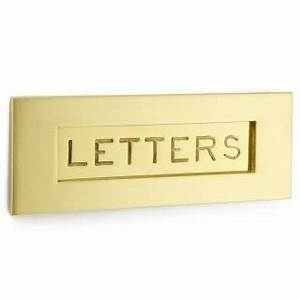 engraved letter box british ironmongery With engraved letter box