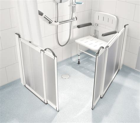 shower seat height photos half height shower doors by impey practical bathing