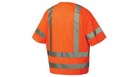Class 3 Hi-vis Orange Safety Vest