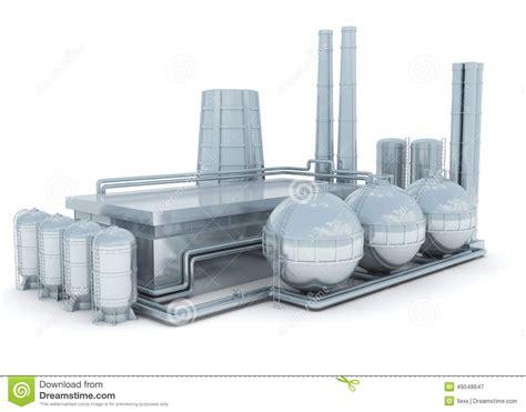 design on stock fabriek moderne fabrik stock abbildung bild 49548647