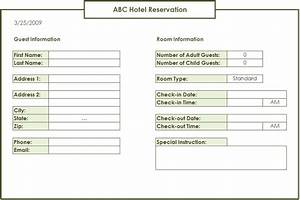 restaurant reservation sheet template - spreadsheetzone free excel spread sheets
