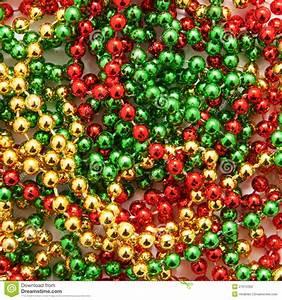 Christmas Beads Stock Photo - Image: 27672320