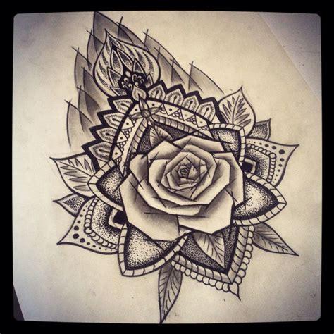 mandala rose ab roses mandala arm tattoos tattoo