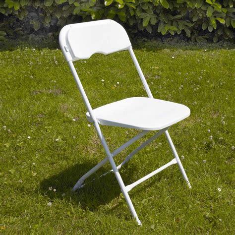 chaise pliante plastique blanche pas cher mobeventpro
