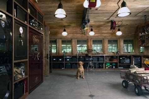 organisation bureau windows 50 cave garage ideas modern to industrial designs