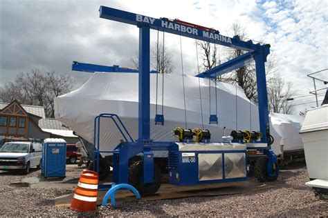 Boat Lifts For Sale Vermont by Kropf Industrial Delivers 30 Ton Capacity Boat Hoist
