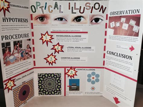 Optical Illusion Science Project 2019 Hard Work