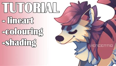 paint tool sai lineart colouring shading tutorial
