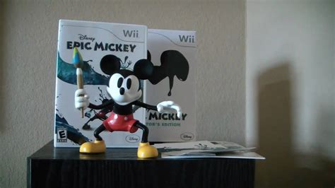 Collectors Edition Epic Mickey Unboxing Youtube