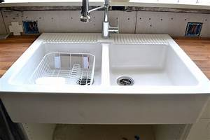 Farm Sink With Faucet Holes
