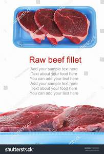 Raw Meat Fresh Beef Pork Big Stock Photo 109093802 ...