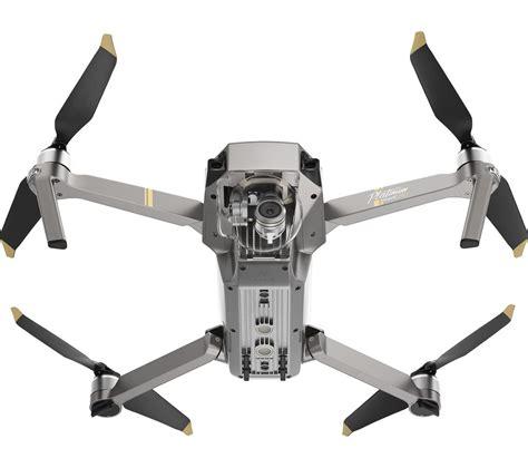 buy dji mavic pro platinum drone fly  combo silver