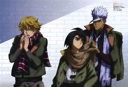 Orphans Blooded Gundam Iron Mikazuki Orga Suit